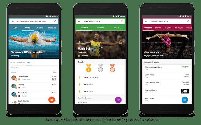 Google dará cobertura total a las Olimpiadas de Rio 2016