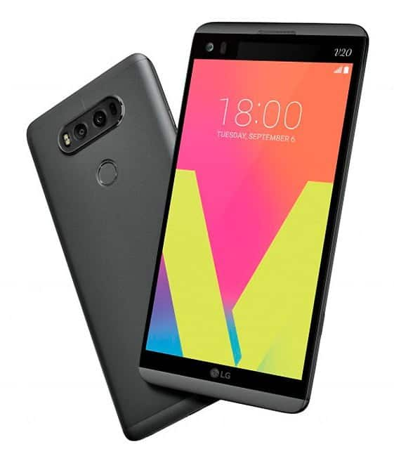 Lanzamiento oficial del LG V20