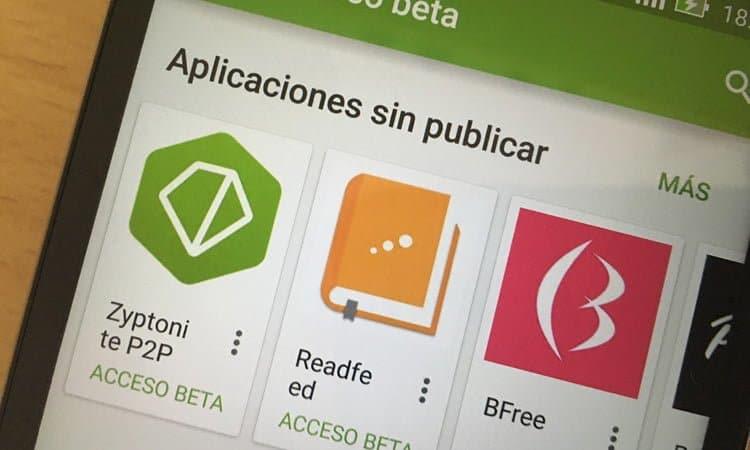 Las beta abiertas llegan a Google Play Store