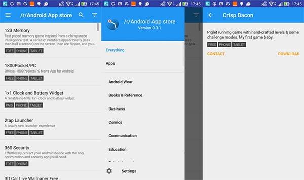 Los usuarios de Reddit crean una App Store