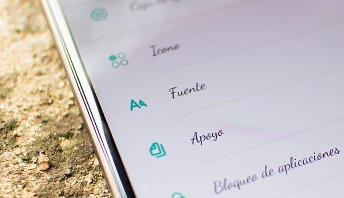 Cómo cambiar la fuente de letra del móvil