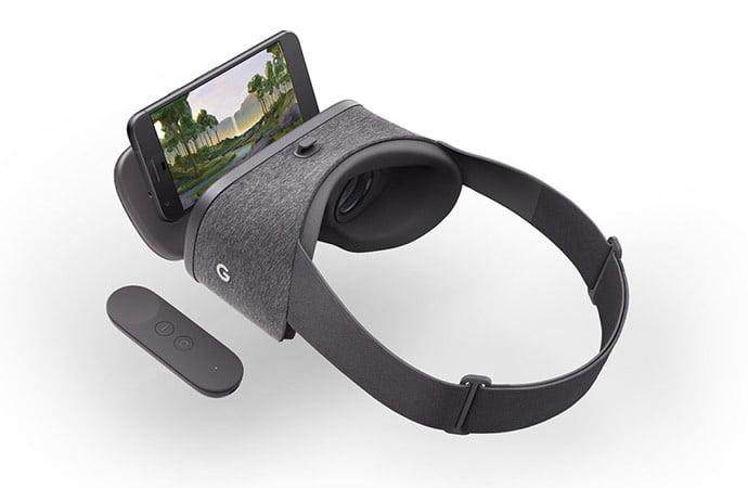 Daydream View, el nuevo dispositivo de realidad virtual de Google