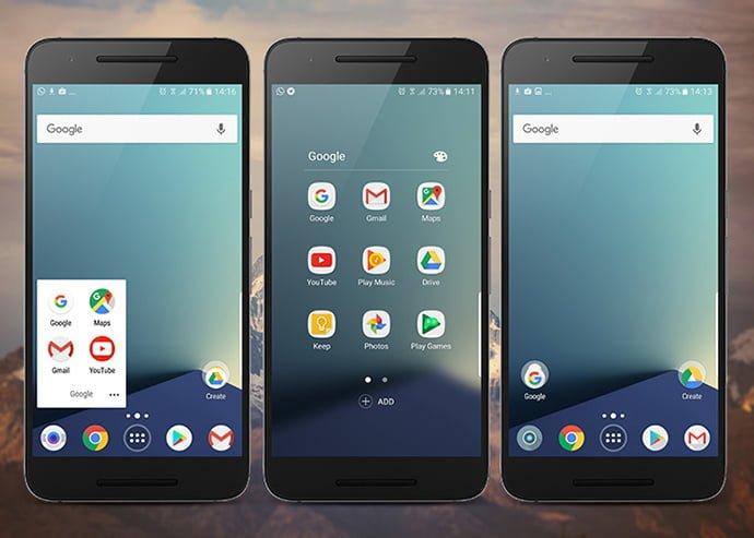 Packs de iconos circulares para Android similares a los de Pixel