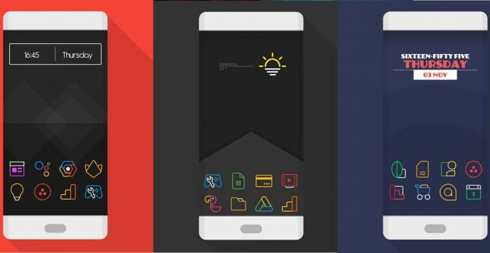 twopixel icon pack