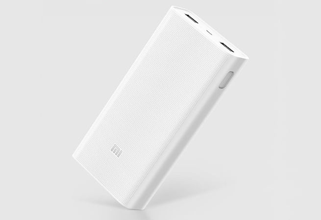 Xiaomi lanza una nueva batería externa de 20.000 mAh