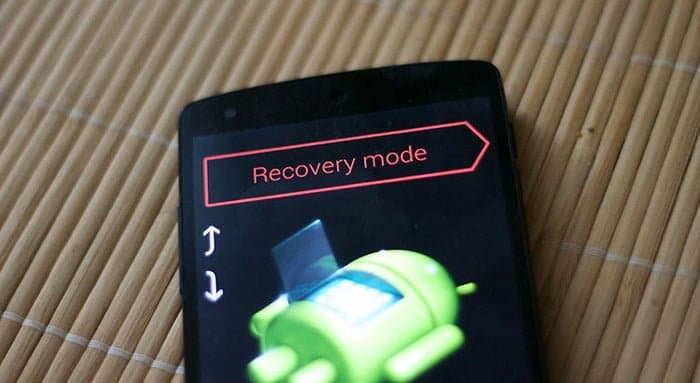 reiniciar android recovery
