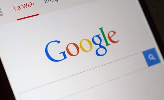 La actualización de la aplicación de Google puede provocar un error