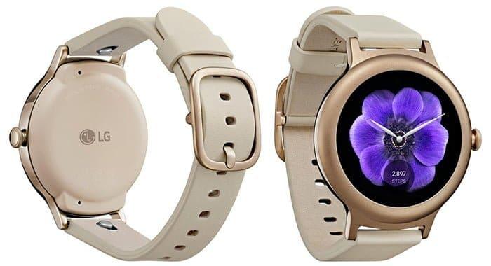 LG Watch Style oro rosa